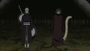 Tobi, Kabuto and White Zetsu Army by TheBoar