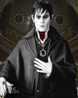 Barnabas Collins of Collinwood Manor by Sketched-Nightmares