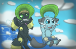 Collab: Our big adventure!~ by SirNorm