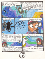 MLP:FiM The Wonderful Witch of Neigh's comic pg 13 by Magic-Kristina-KW
