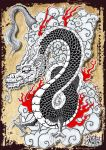 Japanese Dragon by tenshiflyers