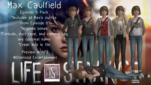 Max Caulfield - Episode 5 Outfits by angelic-noir