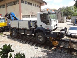 Iveco Trakker Hi-Rail by SD40-2