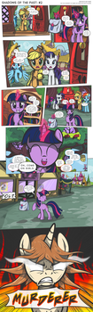 MLP:FiM - Shadows of the Past #2 by PerfectBlue97