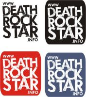 typeface for DEATHROCKSTAR by sampratot