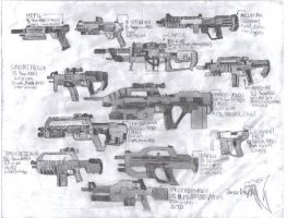 SSFS ARMOURY MODIFIED WEAPONS by Delta9-11