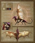 Karillya Reference sheet by GlowingSpirit