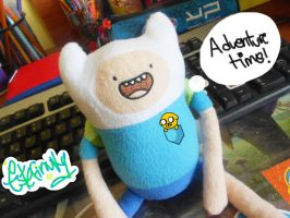 .: Finn y mini Jake :. by Estefaniia-colacao