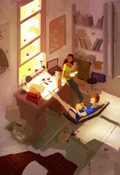 Morning guests. by PascalCampion