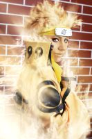 Naruto Uzumaki Bijuu Mode by a4th