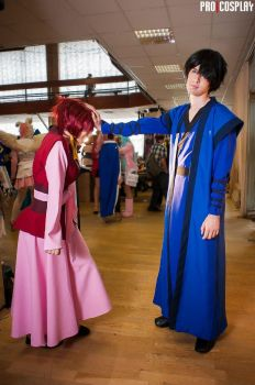 Hak and Yona by MadnessEyes