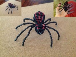 Beaded Fishspider by SweetSilentSteps