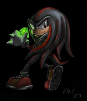 Shadow Knuckles by NetRaptor