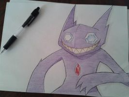 Sableye ( Game: Pokemon ) by Sakura813