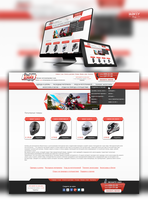 Web design for online store motorcycles by Jarksy