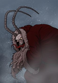 Krampus by Ian-Summers