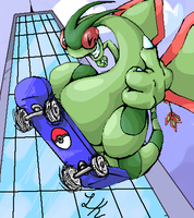 FLYGON used EXTREME ATTACK by razorcat