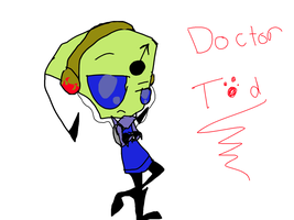 Meet Doctor Tod. by invader-dot