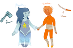 Moonstone and Sunstone contest entry by MoonOfNight