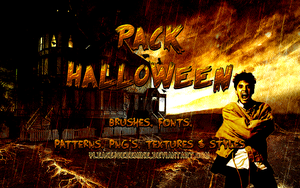 Pack Recursos Halloween by PleaseJoeBeMine