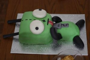 Gir Birthday Cake by Amishanda