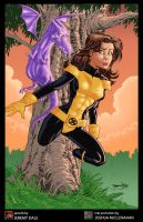 CONPRINT Kitty Pryde by thejeremydale