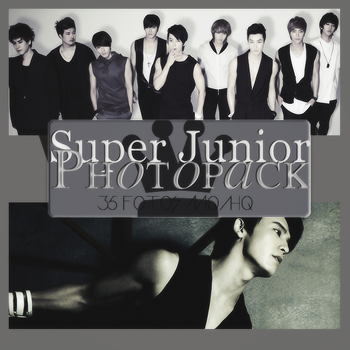 Photopack Super Junior 005 by DiamondPhotopacks