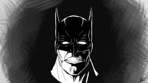 Mad Batman by gianhet