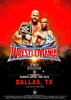 Wrestlemania COVER by YEvaN91