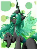 Queen Chrysalis by ragurimo