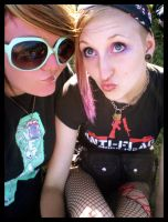 Peachy and Myself at SOUNDWAVE by InevitableFury