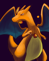 Charizard by Pangorondo