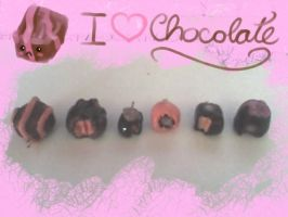 I Love Chocolate by lenneheartly