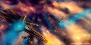 Flying Armada... by aiRaGe