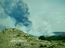 Wyoming Wild Fire by ArcaneAffliction