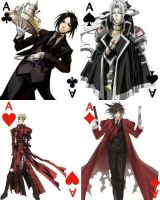 Aces cards by Madcrazyduck