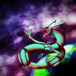 Rayquaza by BIacat