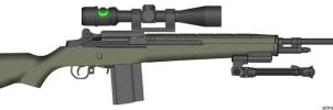 m14 by WolfSniper727