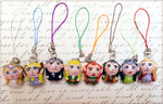 Middle Earth elves charm set by Comsical