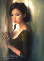 Asian Beauty 12 (Commissioned Artwork) by Amro0