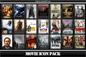 Movie Icon Pack 26 by FirstLine1