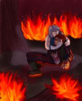 Guy/Tora: Gone Down Fighting by innocent-rebel
