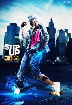 Step Up 3D by TOUCH-MAGIC
