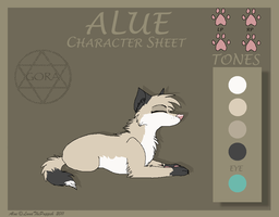 Alue - Character Sheet by LunaThePuppeh