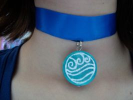Katara's Necklace by pah-her-pul