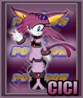 Cici the Espeon by CCgonzo12