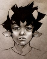Karkat: Be painstakingly rendered. by tviolaceus