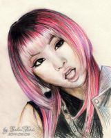 Minzy 2NE1 Come Back Home by SakuTori