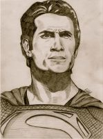 Superman Sketch by BoyWonder024