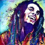 Bob Marley by bexfoster